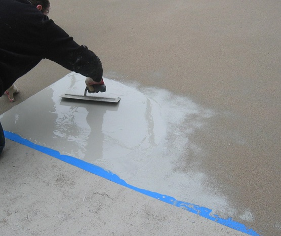 Self Leveling Products : Alsan rs self leveling mortar soprema