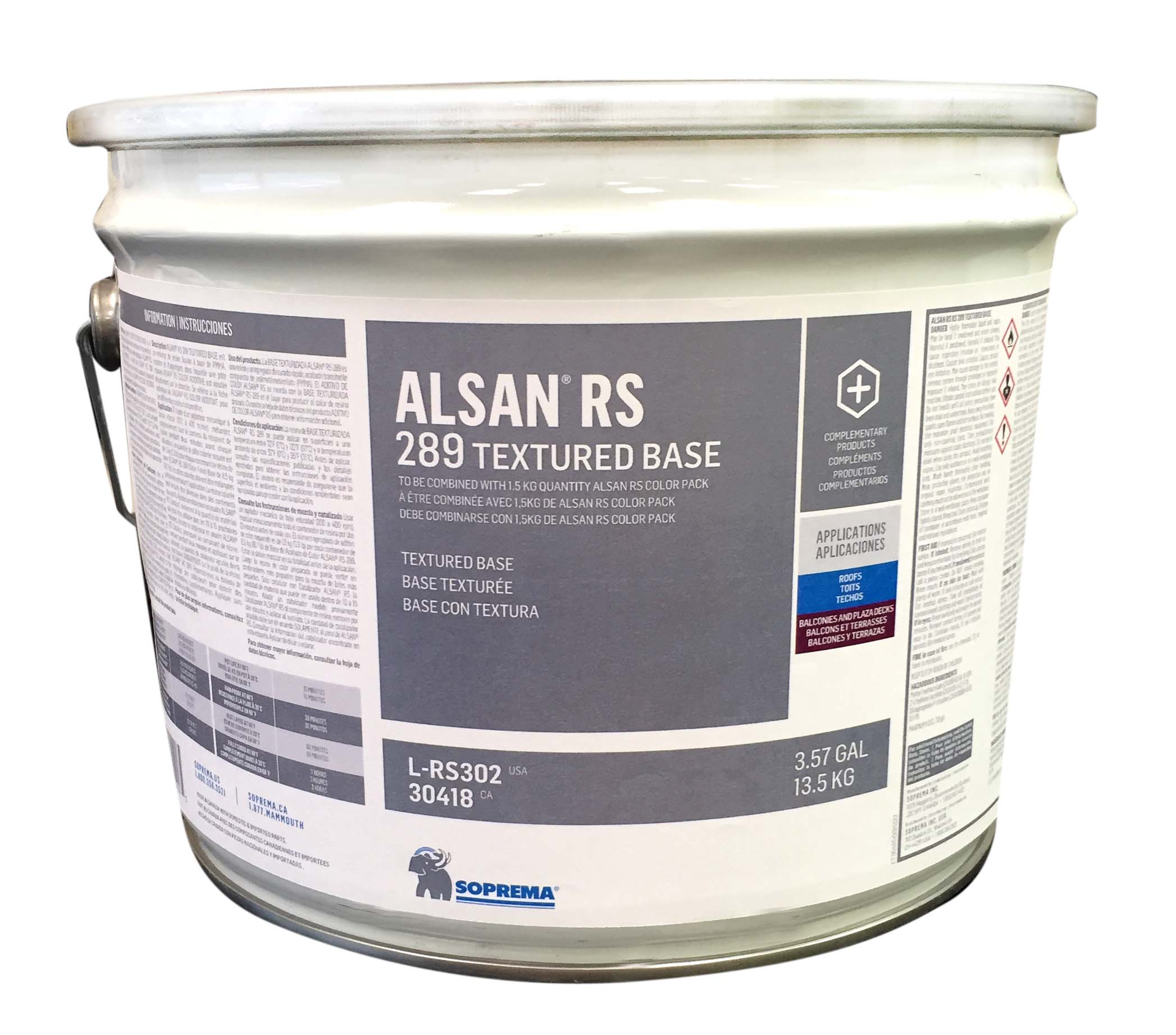 Alsan Rs 289 Textured Base Soprema